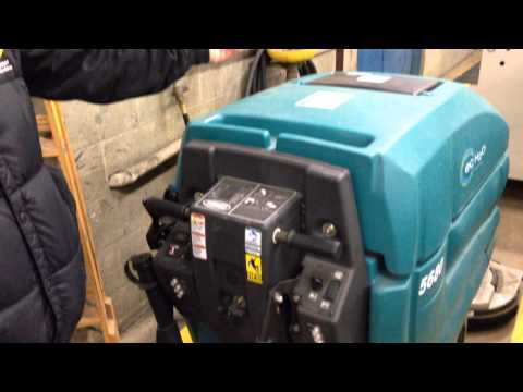 Floor Operator Of Powervac Tennant T3 Operator Training Video Doovi