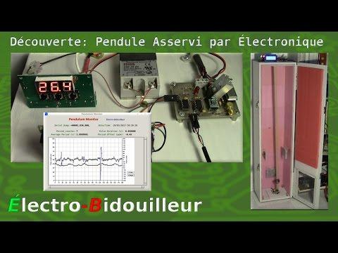 EB_#145 Découverte: Mon Pendule Mécanique Asservi par Électronique
