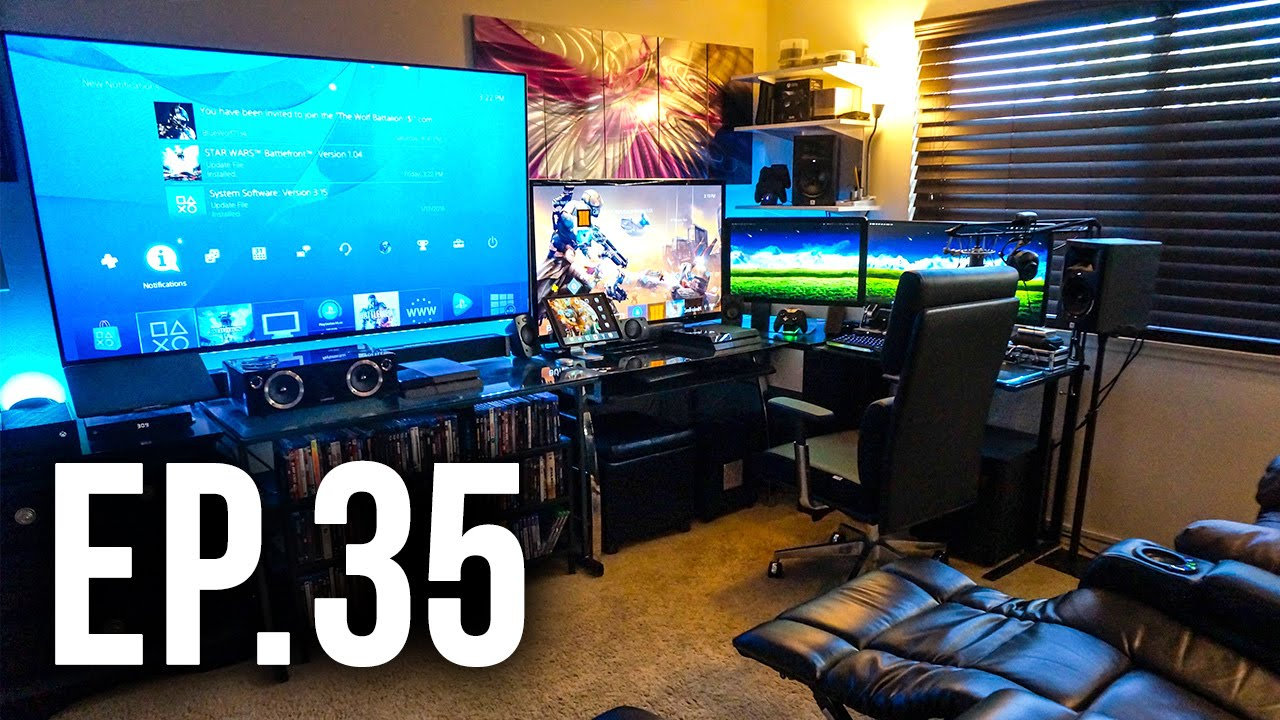 Room tour project 35 best gaming setups ft joker How to make a gaming setup in your room