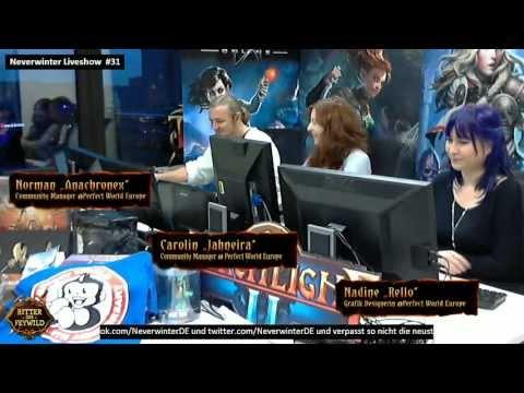 [DE] Let's Play Neverwinter #31 - Die Live Show mit Nadine, Norman und Carolin