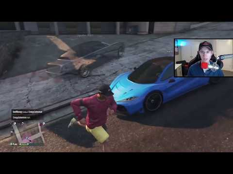 Killing MrBossFTW And Ruining His Stream | GTA 5 Online