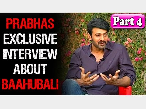 Prabhas About Rama Rajamouli and his marriage | Baahubali Exclusive Interview | Part 4