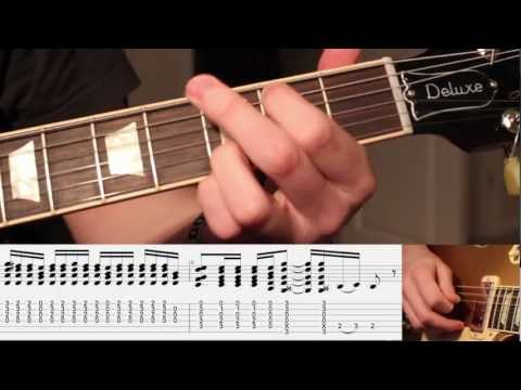 'Fall To Pieces' - Guitar Lesson - Part One (WITH TABS) - Velvet Revolver - (Karl Golden)