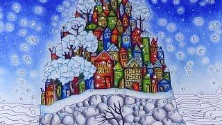Inseln der Träume Teil 2 die Insel malen mit Prismacolor Wyspy Anita Graboś