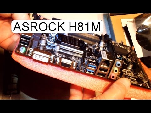 ASRock H81M-HDS Descargar Controlador