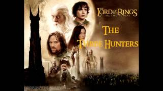 the three hunters the lord of the rings the two towers