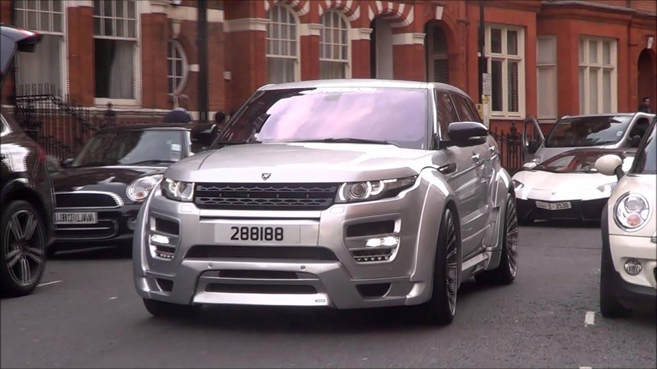 Arab Hamann Range Rover Evoque in London