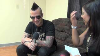 Avenged Sevenfold Interview with Johnny Christ