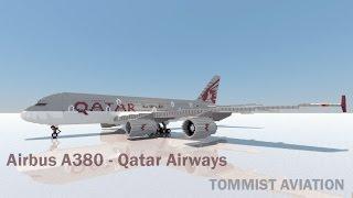 Minecraft: Airbus A380 Qatar Airways (ft. Zeemo)