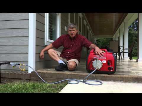 Using A Honda 2000 Tri-Fuel Generator on Natural Gas