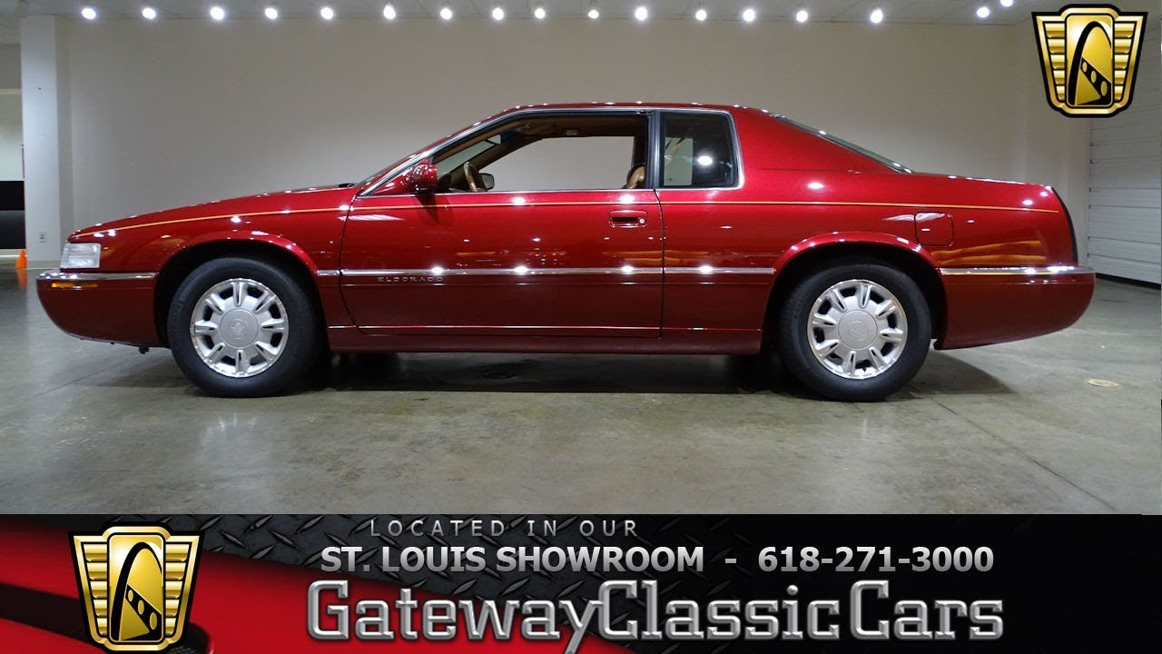 1995 cadillac eldorado stock 7466 gateway classic cars showroom youtube 1995 cadillac eldorado stock 7466 gateway classic cars showroom