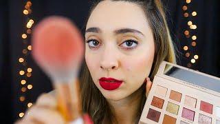IO TI TRUCCO, TU RILASSATI | ASMR Makeup Artist Roleplay ita