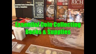 THE BEST COIN BOOKS & SUPPLIES EVERY COIN COLLECTOR SHOULD HAVE - ESSENTIAL REFERENCES