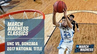 North Carolina vs. Gonzaga: 2017 National Championship | FULL GAME