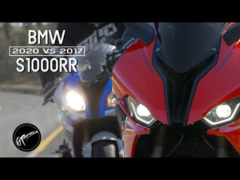 2020 S1000RR vs 2017 S1000RR rider review