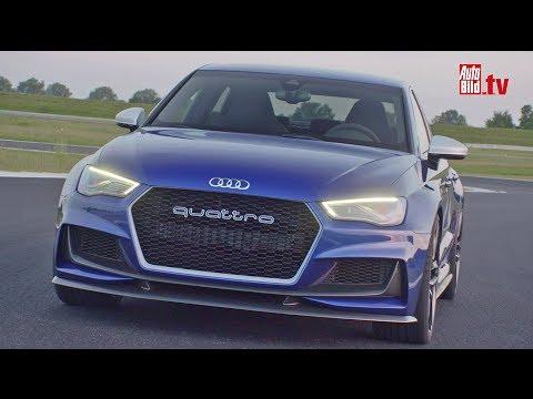Audi A3 clubsport quattro concept - Der stärkste A3 aller Zeiten