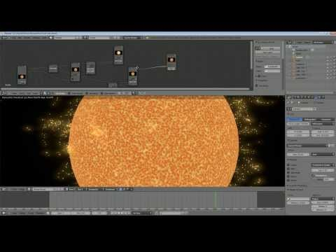 Blender 2.69 Tutorial - Make a Sun in Cycles