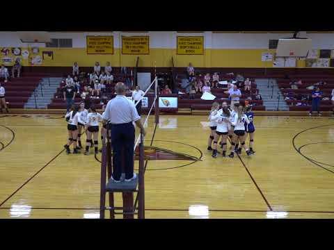 JCHS Volleyball vs Bourne High School