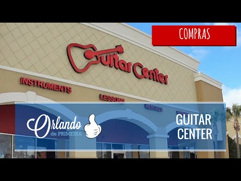 Guitar Center - O paraíso dos músicos!