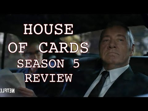 House of Cards S5 Review - Kevin Spacey, Robin Wright