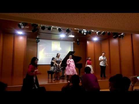 North Korean Children Sing Kid Song In Jakarta