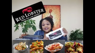 Red Lobster new tasting menu Mukbang 먹방 (eating show)