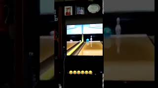 Dog Puts Unamused Face When Girl Fails Attempting Bowling on Wii
