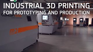 Industrial 3D Printing For Prototyping And Production