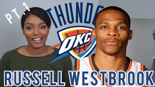 New NBA Sports Fan Reacts to Russell Westbrook Basketball Highlights Pt.1