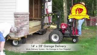 14' X 28' Garage Delivery - Portable Storage Building P.2