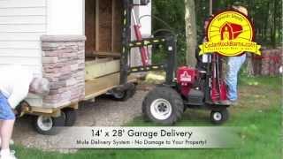 14' X 28' Garage Delivery - Portable Storage Building P.2