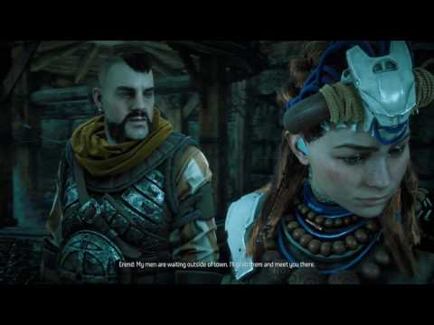 Horizon Zero Dawn: Into the Borderlands - defeat Champion, and Disable the Sonic Barrier (28)