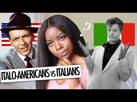 ITALO-AMERICANS vs. ITALIANS IN ITALY