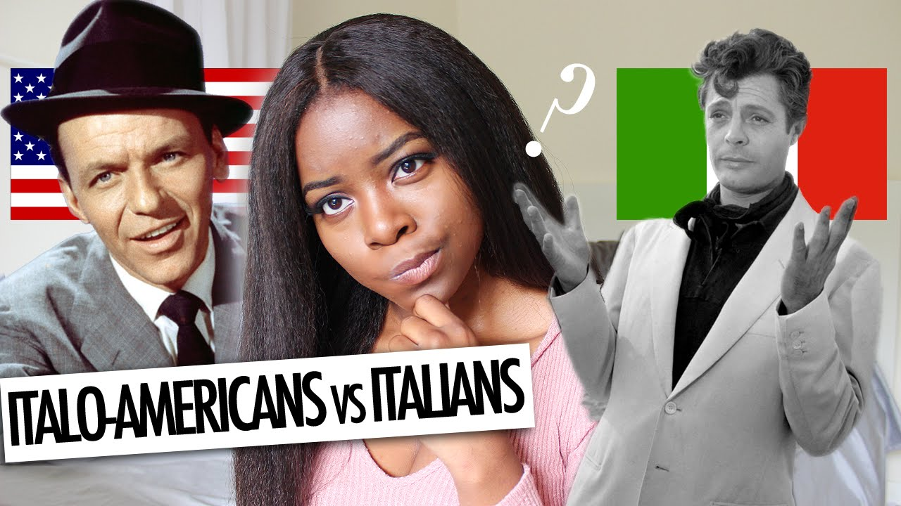 ITALO-AMERICANS vs. ITALIANS IN ITALY - YouTube