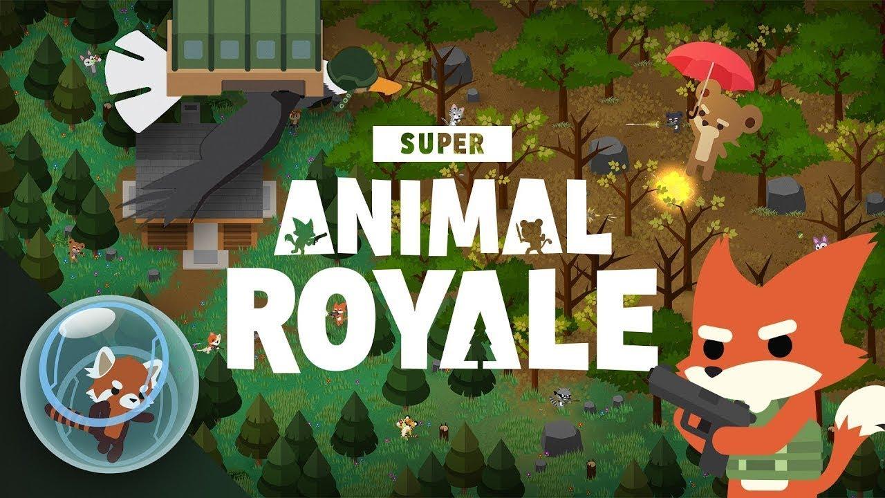 Super Animal Royale | Excelente partida, nada puede salir mal decian...