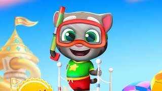 New Talking Tom Gold Run Summer Fun Beat The Heat! New Character Splashy Tom
