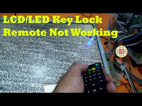 LCD/LED TV Key Lock Issue. Remote Not Working. Complete Detail In Urdu/Hindi