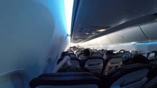 Boeing 737 Time Lapse, Oregon to Hawaii...