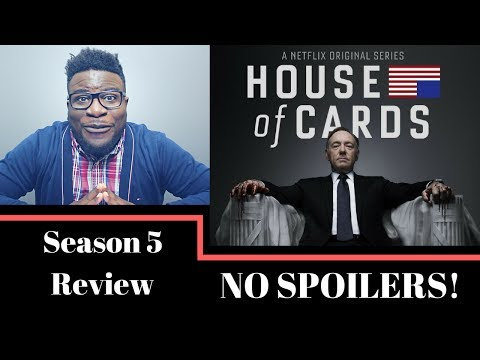 HOUSE OF CARDS SEASON 5 REVIEW - NO SPOILERS | AMAZON GIVEAWAY