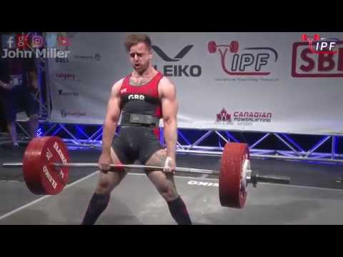 Owen Hubbard - 777kg 3rd Place 83kg - IPF World Classic Powerlifting Championships 2018