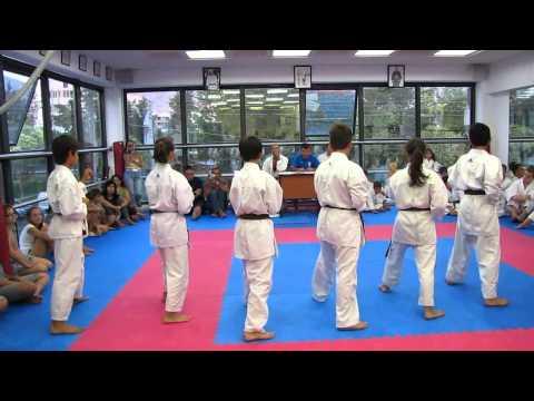 "Hellenic-Japanese Karate Academy "" Tatsuo Susuki ""  9th Kyu-1st Dan Exams.wmv"