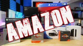 Amazon's Crazy Black Friday Tech & Gaming Deals!!!! | Cheap Switch Games! |