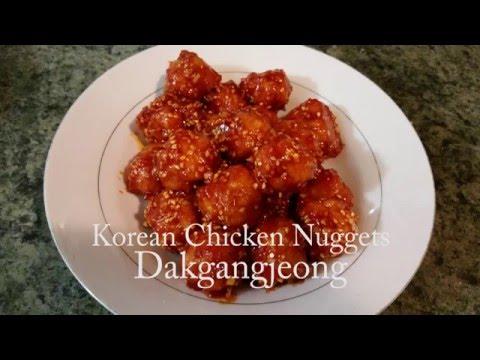 Korean Chicken Nuggets Recipe 🇰🇷