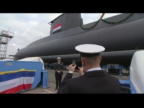 Germany Completes the first type 209 mod 1400 submarine for the Egyptian Navy