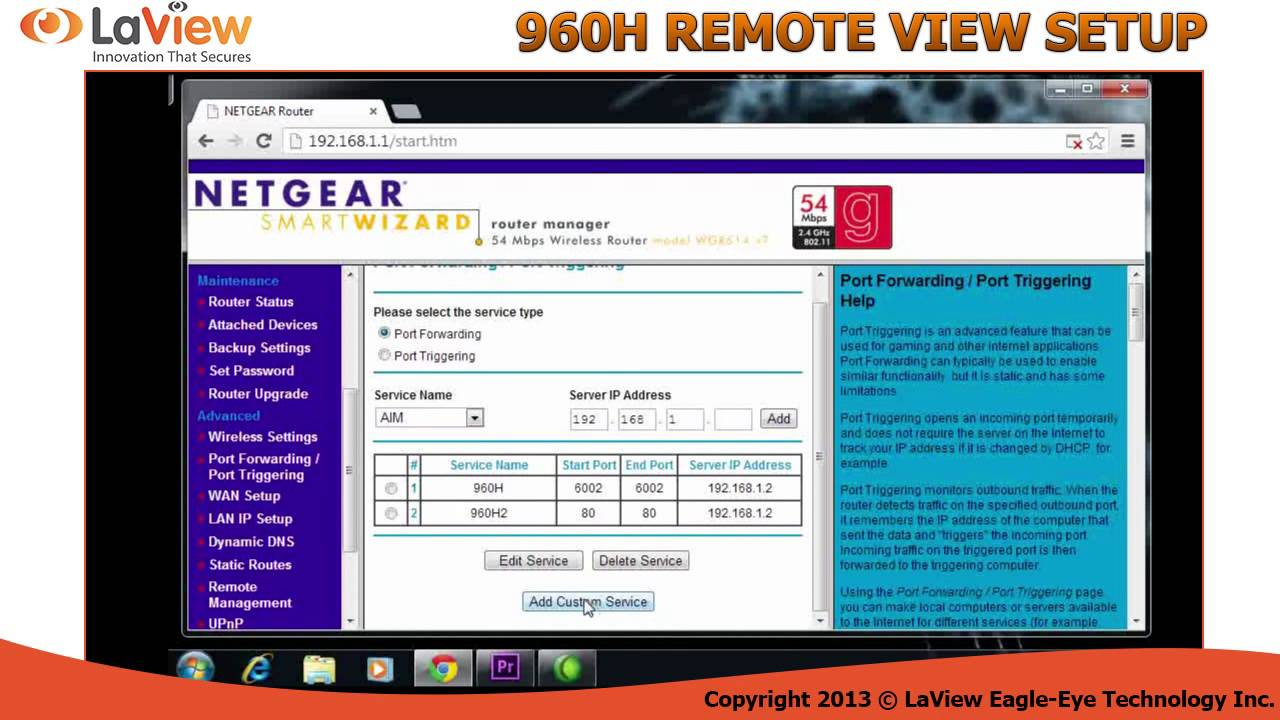 Step By 960h View Remote Dvr Your Laview How For To System Setup