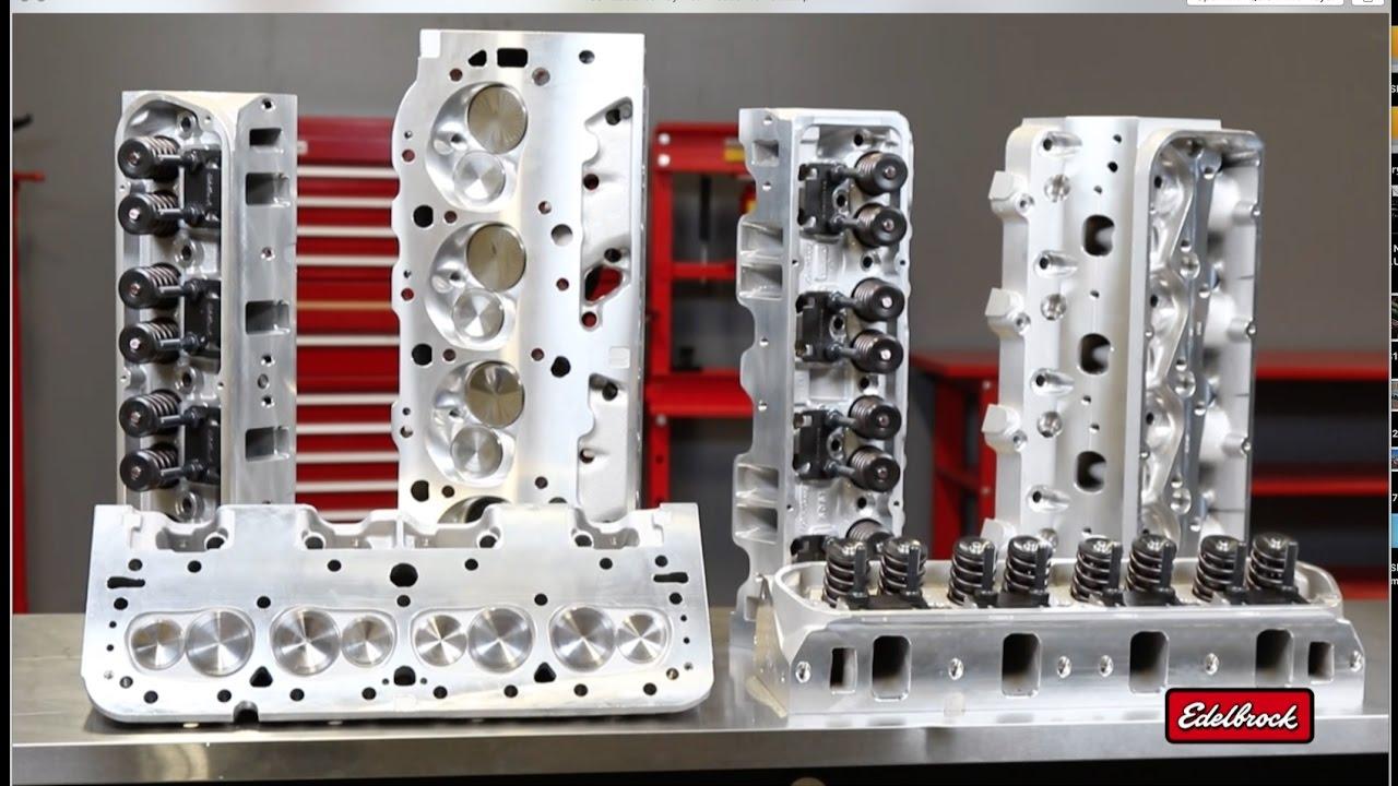 Aluminum Cylinder Heads - Introduction - Edelbrock, LLC