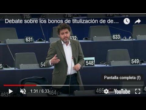 Debate sobre los bonos de titulización de deuda soberana