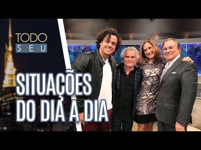 Conversa com os atores Carla Candiotto, Gero Camilo e Victor Mendes - Todo Seu (09/07/18)