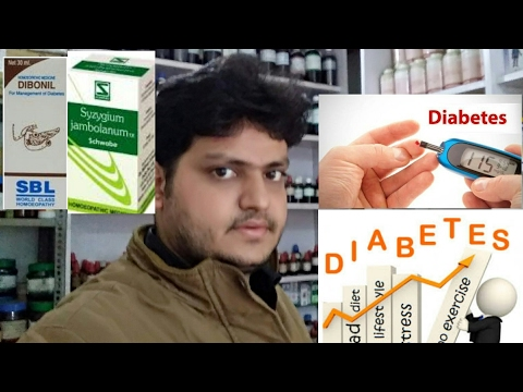 homeopathic medicine for treatment of diabetes explain