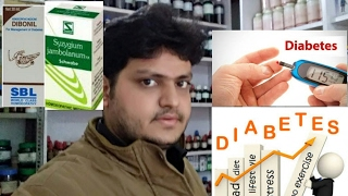 homeopathic medicine for treatment of diabetes explain?
